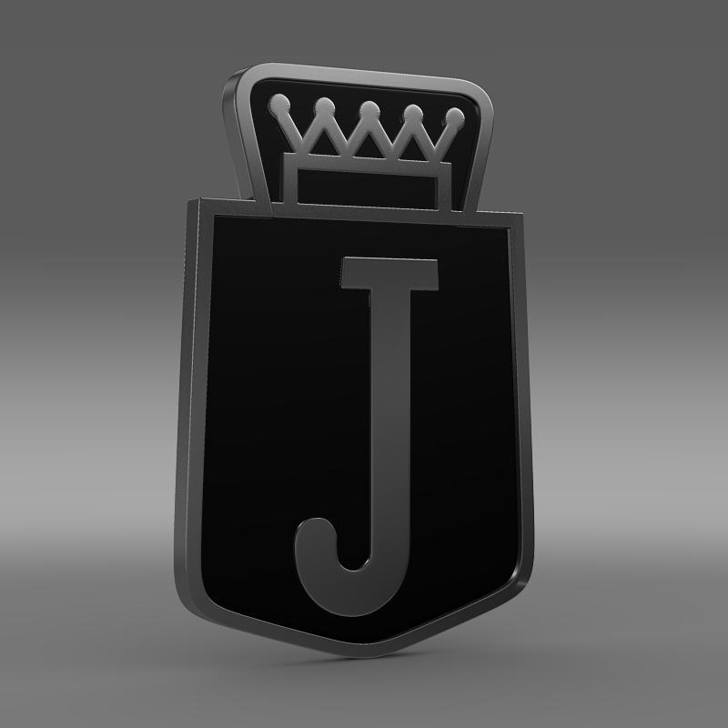 jensen logo 3d model 3ds max fbx c4d lwo ma mb hrc xsi obj 152336