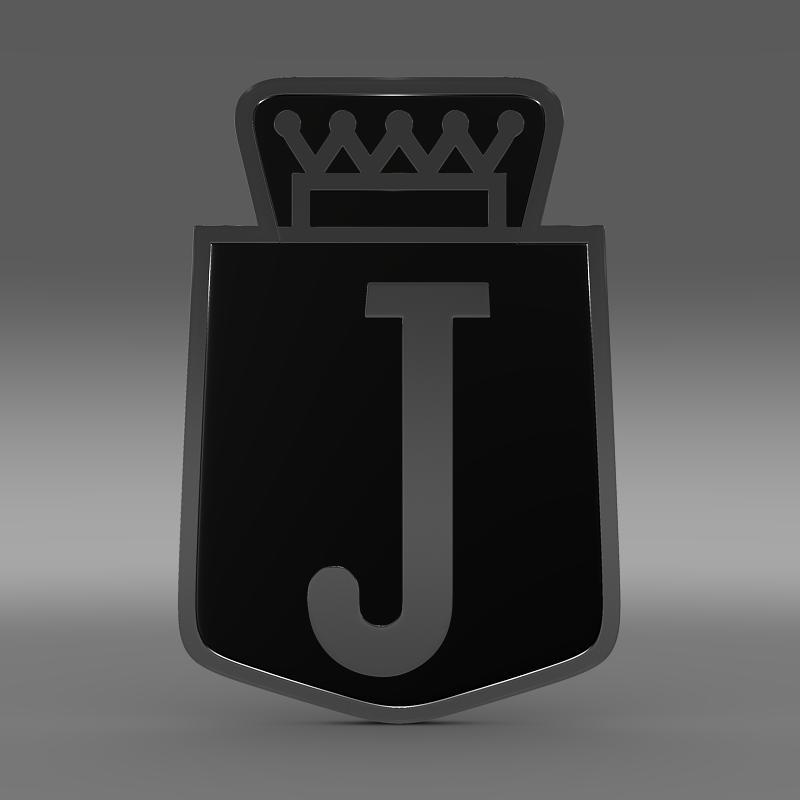 jensen logo 3d model 3ds max fbx c4d lwo ma mb hrc xsi obj 152337