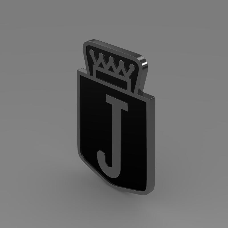 jensen logo 3d model 3ds max fbx c4d lwo ma mb hrc xsi obj 152338