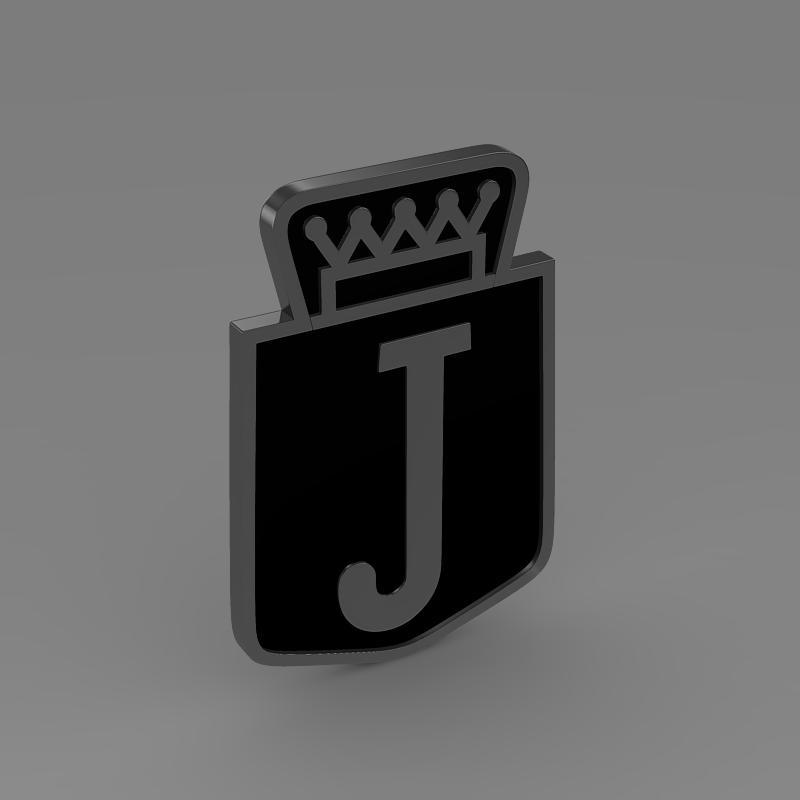 jensen logo 3d model 3ds max fbx c4d lwo ma mb hrc xsi obj 152339
