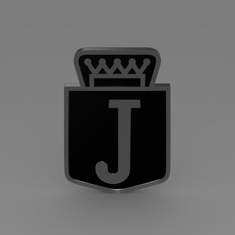 jensen logo 3d model 3ds max fbx c4d lwo ma mb hrc xsi obj 152340