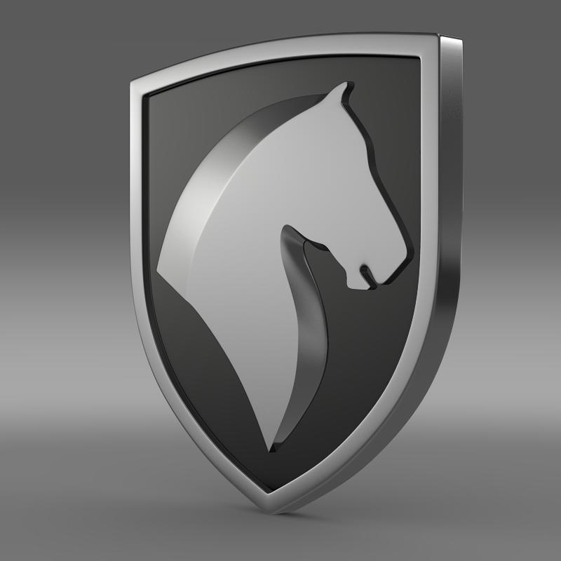 khondro logo 3d model 3ds max fbx c4d lwo ma mb hrc xsi obj 121701