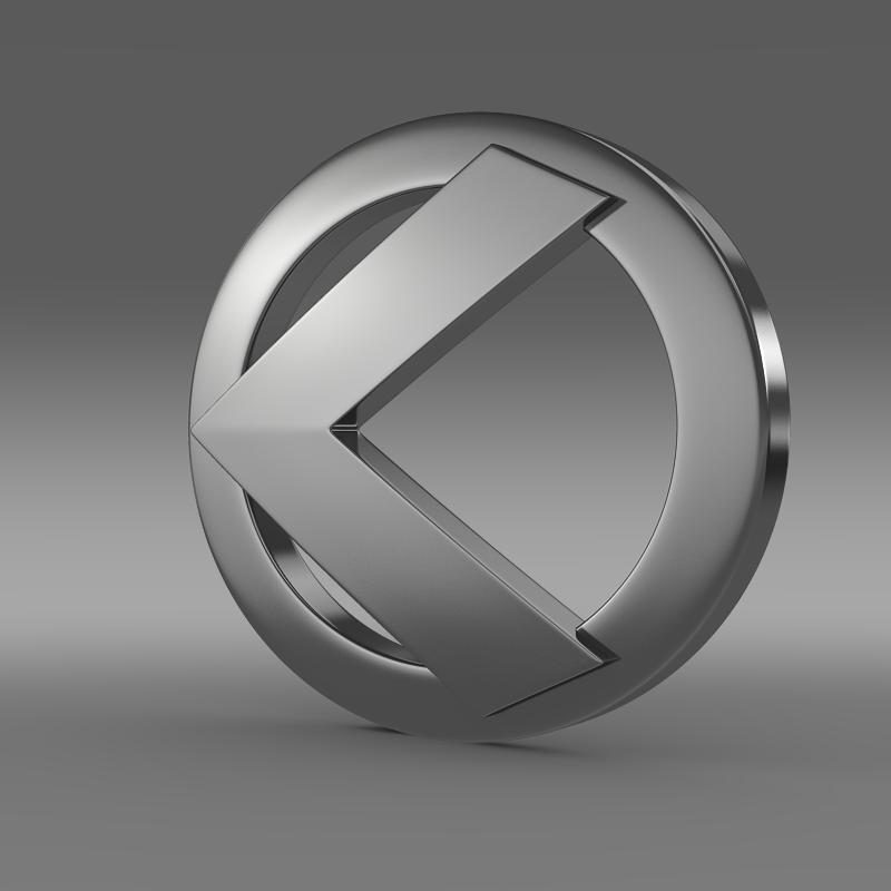 kleeman logo 3d model 3ds max fbx c4d lwo ma mb hrc xsi obj 119640