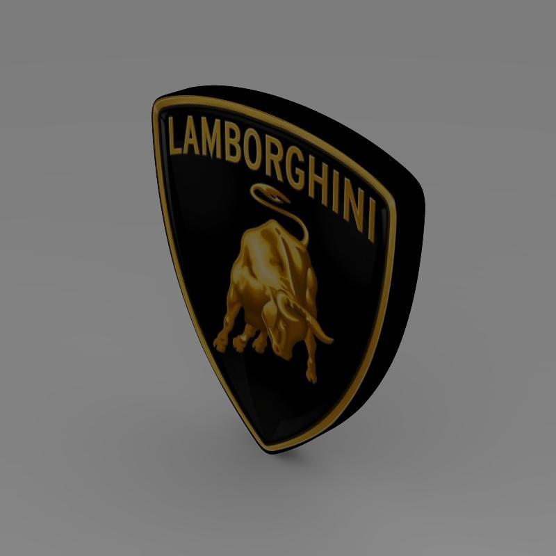 Lamborghini logo 3d model buy lamborghini logo 3d model flatpyramid lamborghini logo 3d model high poly augmented reality ready 3ds max fbx c4d lwo lws lw voltagebd Gallery