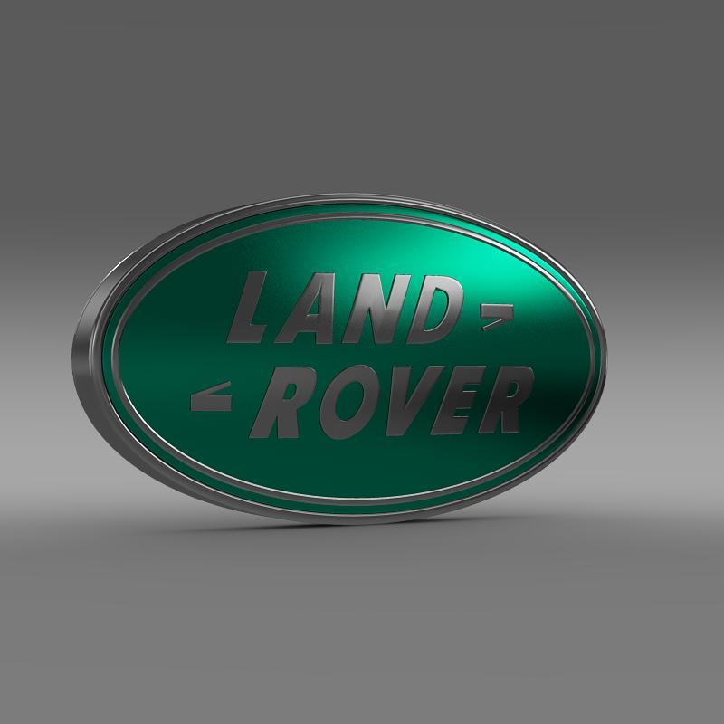 land rover logo 3d model 3ds max fbx c4d lwo ma mb hrc xsi obj 118093