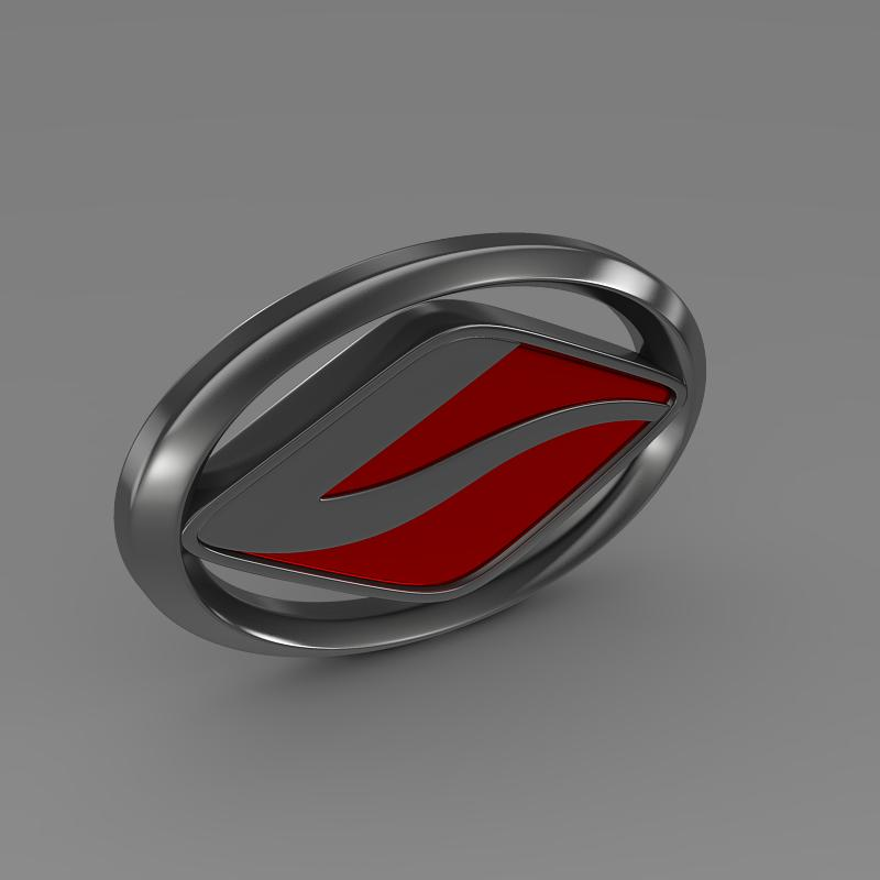land wind logo 3d model 3ds max fbx c4d lwo ma mb hrc xsi obj 121713