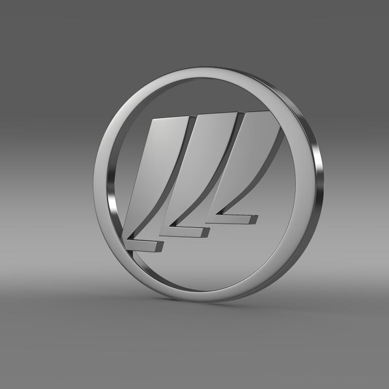 lifan logo 3d model 3ds max fbx c4d lwo ma mb hrc xsi obj 124247