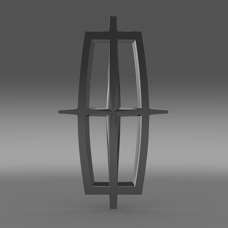 Lincoln Logo 3D Model - FlatPyramid