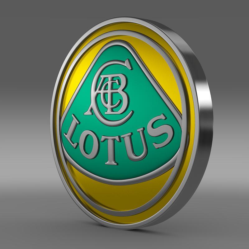 lotus logo 3d model 3ds max fbx c4d lwo ma mb hrc xsi obj 119200