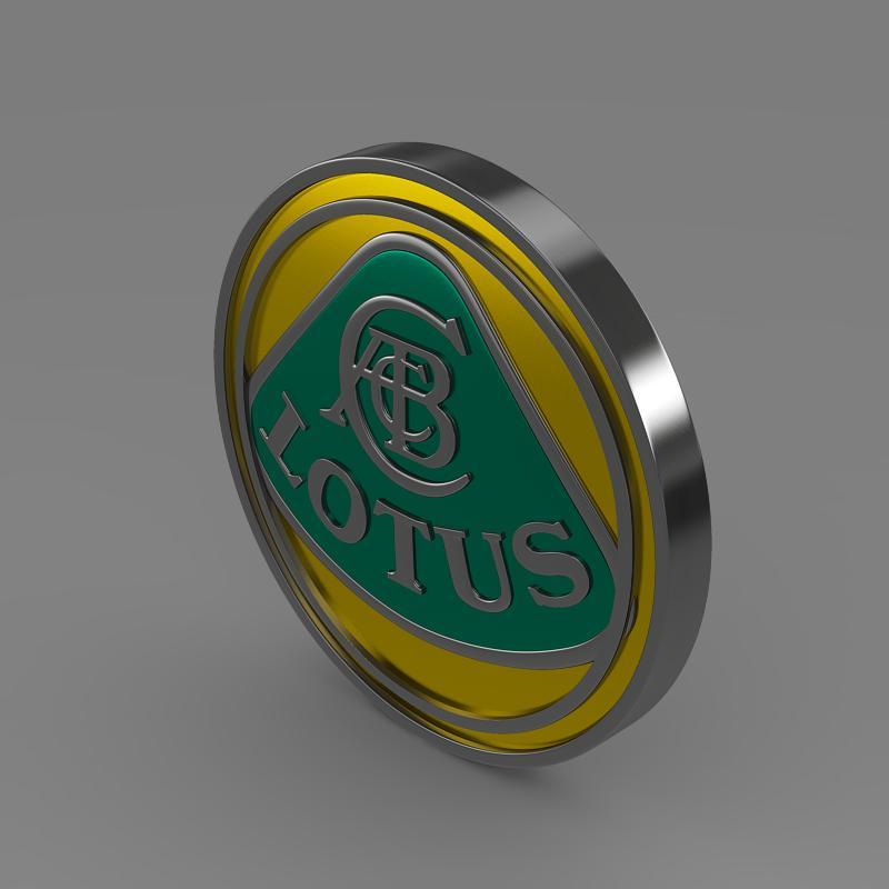 lotus logo 3d model 3ds max fbx c4d lwo ma mb hrc xsi obj 119203