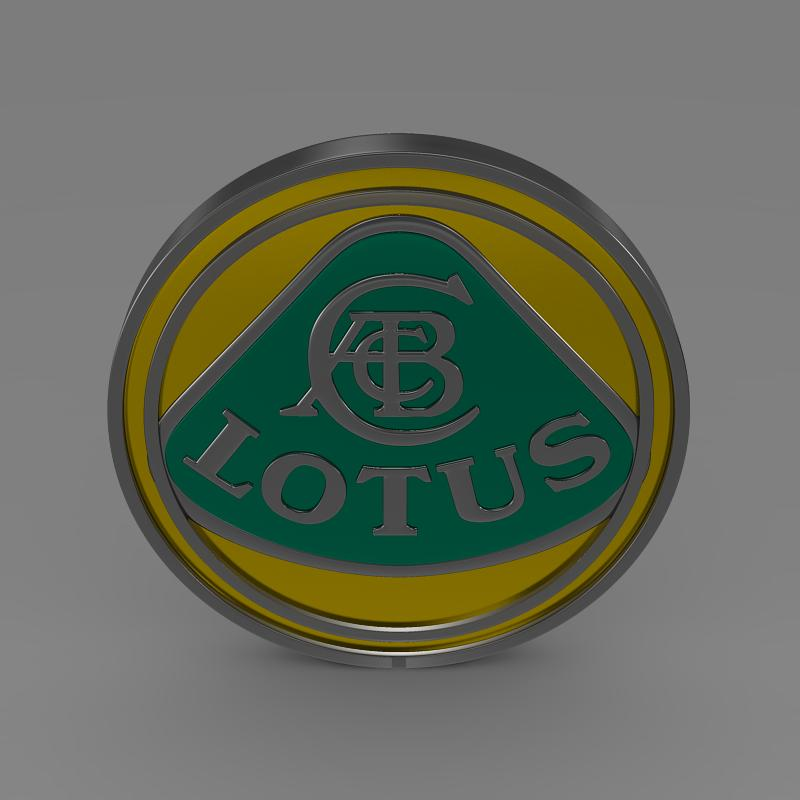 lotus logo 3d model 3ds max fbx c4d lwo ma mb hrc xsi obj 119204