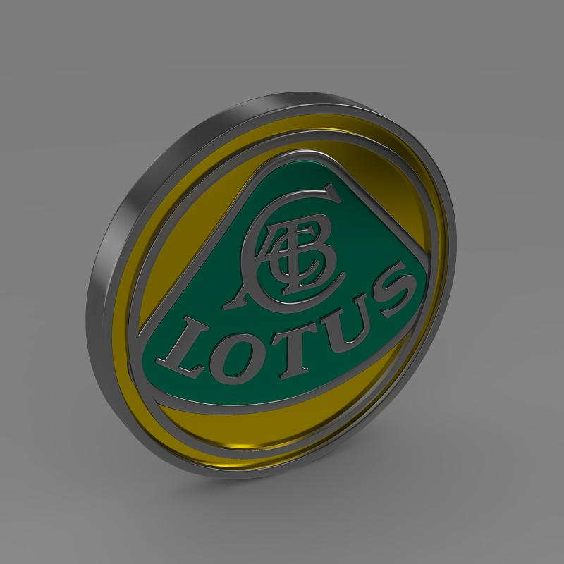 lotus logo 3d model 3ds max fbx c4d lwo ma mb hrc xsi obj 119205