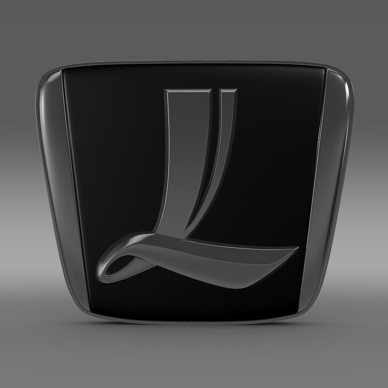 luxgen logo 3d model max fbx c4d lwo ma mb hrc xsi obj 151512