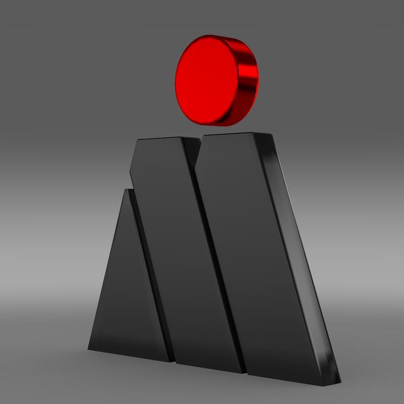 magna steyr logo 3d model 3ds max fbx c4d lwo ma mb hrc xsi obj 152925