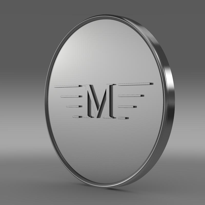 mansory logo 3d model 3ds max fbx c4d lwo ma mb hrc xsi obj 133844