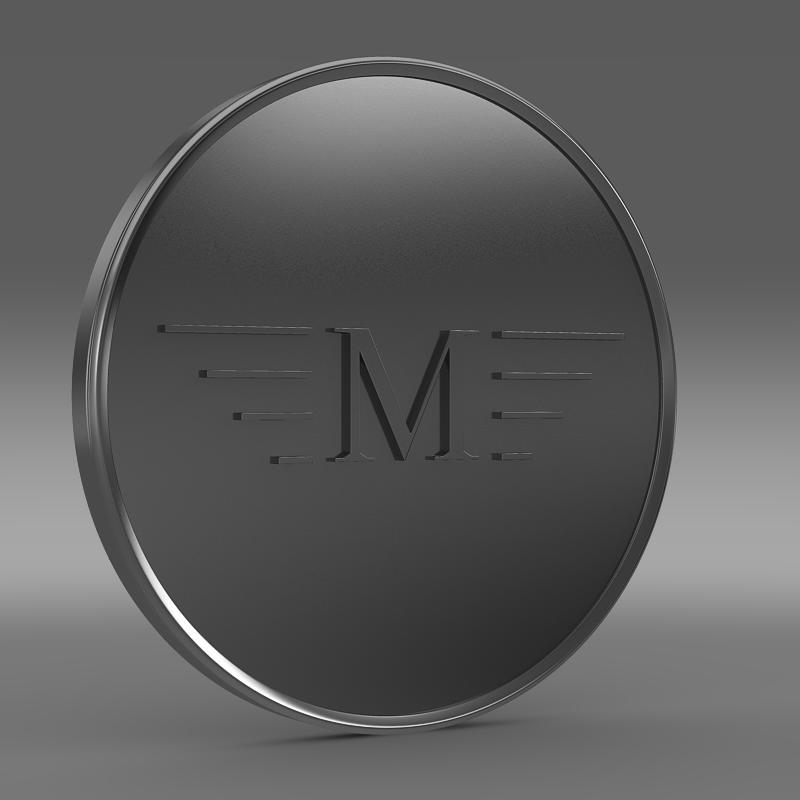 mansory logo 3d model 3ds max fbx c4d lwo ma mb hrc xsi obj 133846