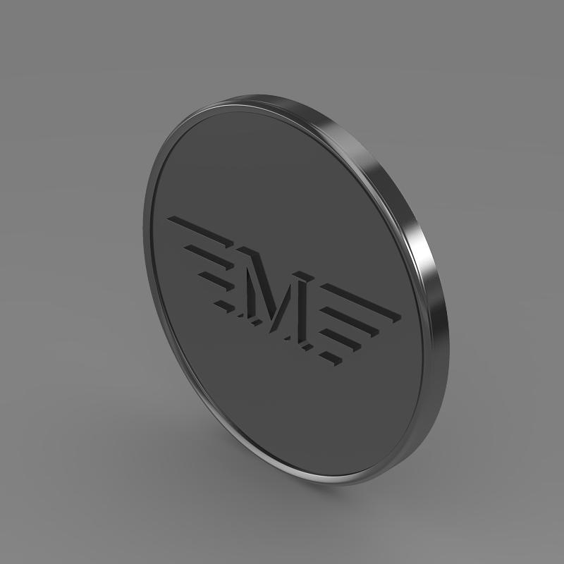 mansory logo 3d model 3ds max fbx c4d lwo ma mb hrc xsi obj 133847