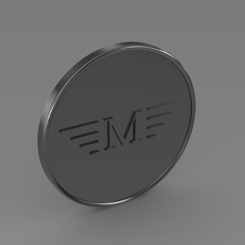 mansory logo 3d model 3ds max fbx c4d lwo ma mb hrc xsi obj 133849