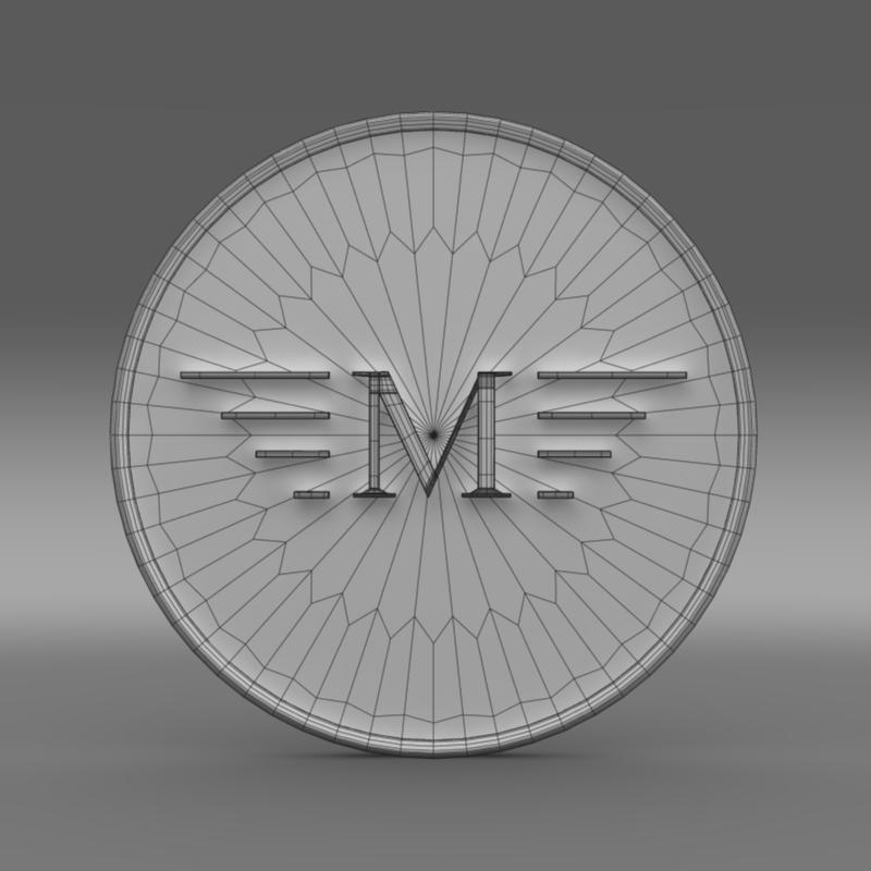 mansory logo 3d model 3ds max fbx c4d lwo ma mb hrc xsi obj 133850