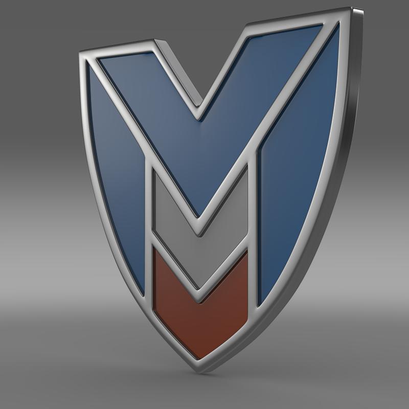 marussia logo 3d model 3ds max fbx c4d lwo ma mb hrc xsi obj 119239
