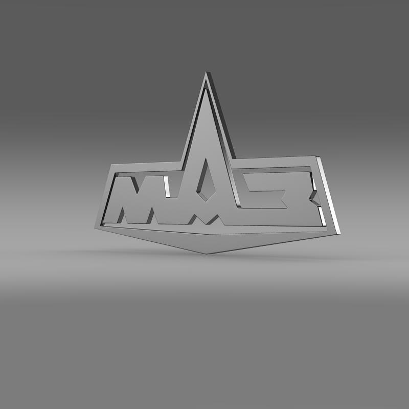 maz logo 3d model 3ds max fbx c4d lwo ma mb hrc xsi obj 152432