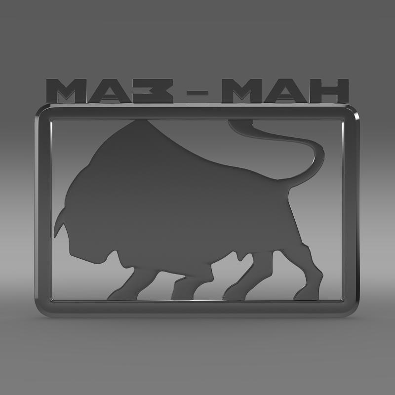 maz man logo 3d model 3ds max fbx c4d lwo ma mb hrc xsi obj 152441