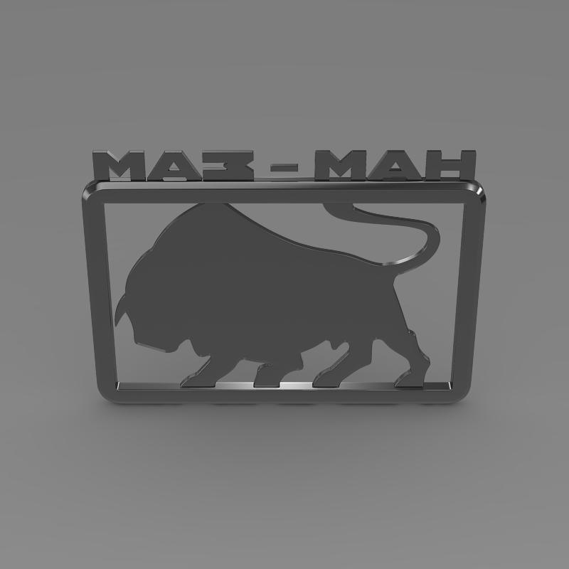 maz man logo 3d model 3ds max fbx c4d lwo ma mb hrc xsi obj 152444