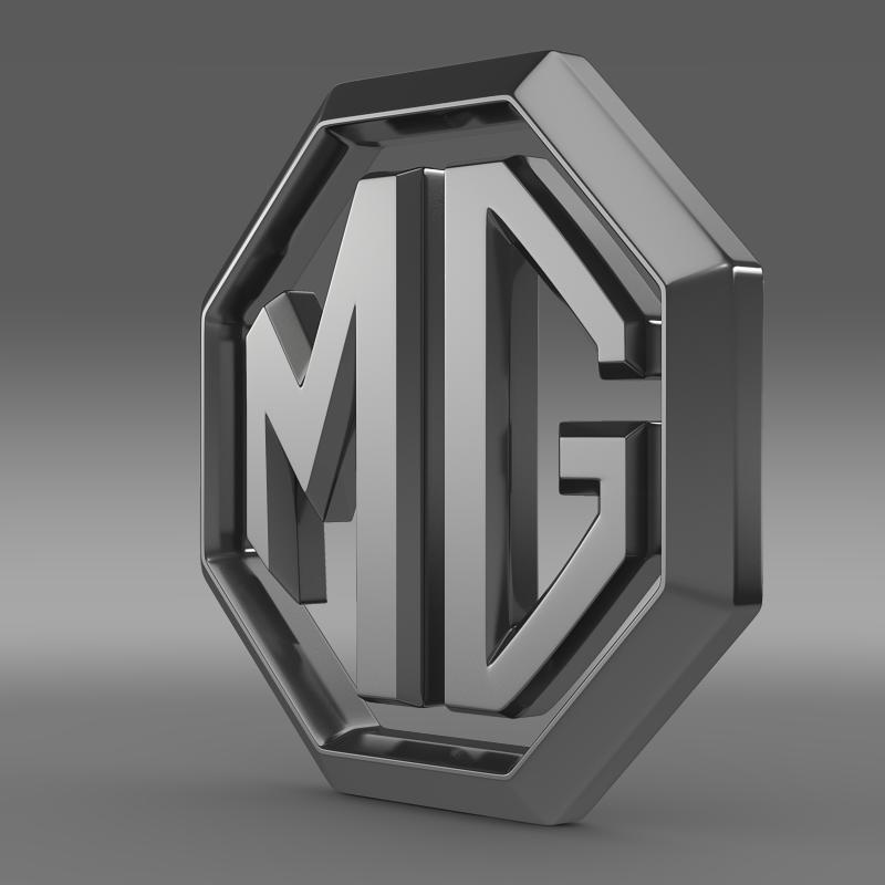 mg logo 3d загвар 3ds max fbx c4d lwo ma mb hrc xsi obj 124456