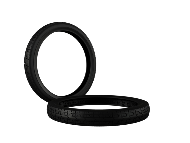 moped vintage tire 3d model 3ds fbx c4d lwo ma mb hrc xsi obj 128362