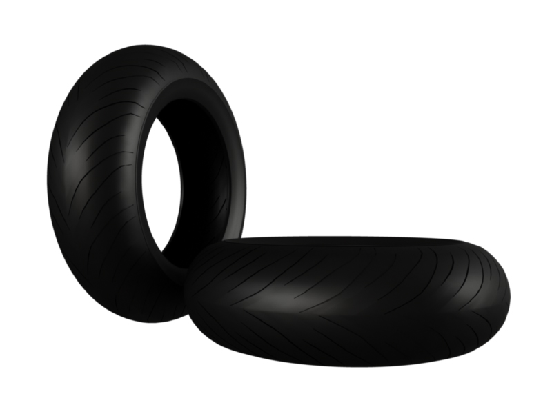 moto gp tire 3d model 3ds fbx c4d lwo hrc xsi 128386