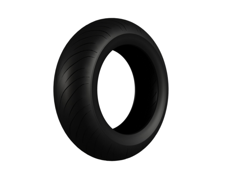 moto gp tire 3d model 3ds fbx c4d lwo hrc xsi 128388