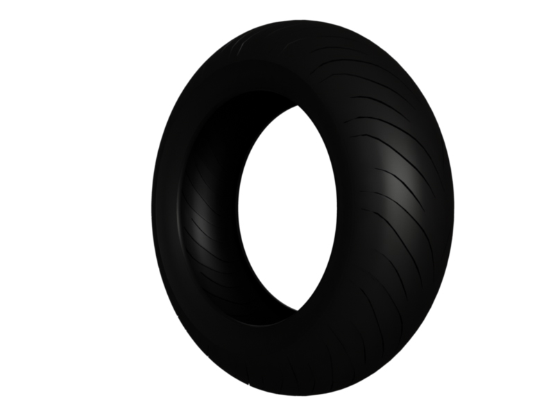 moto gp tire 3d model 3ds fbx c4d lwo hrc xsi 128390