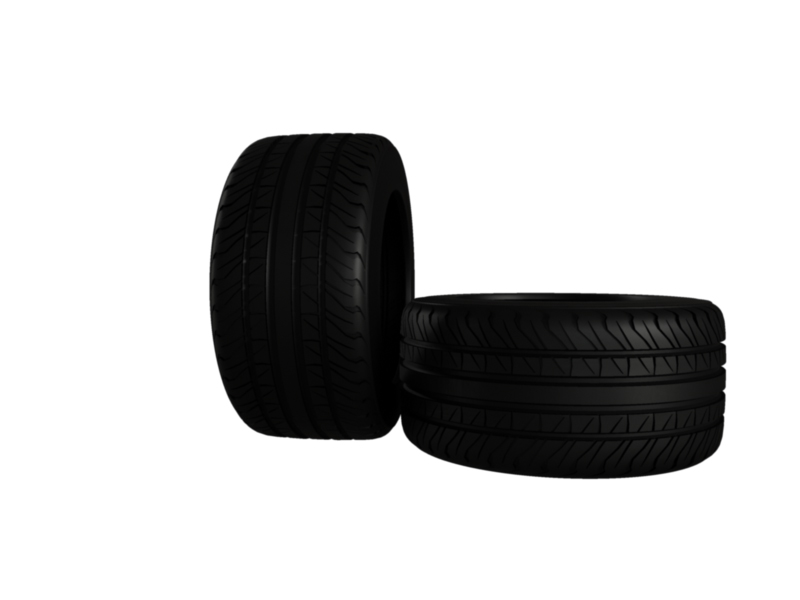 muscle car tire 3d model 3ds fbx c4d lwo ma mb hrc xsi obj 128475