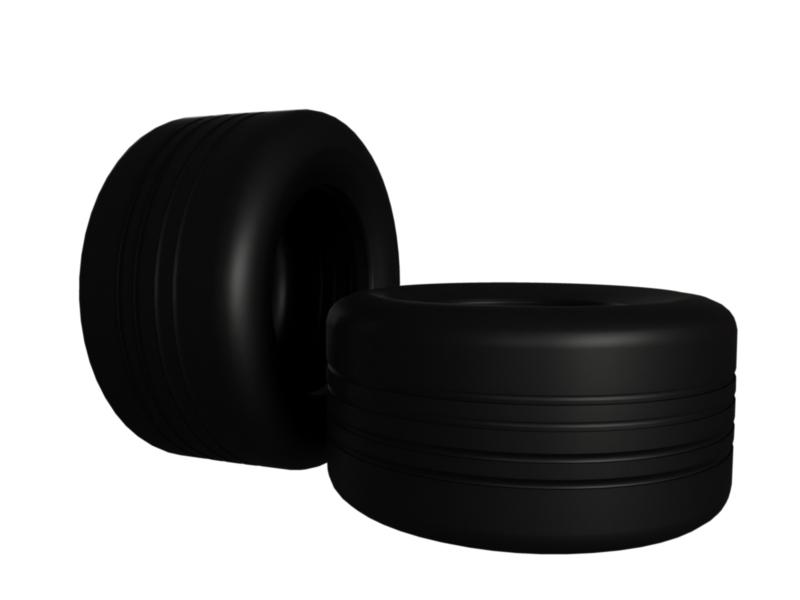 musclecar sport tire 3d model 3ds fbx c4d lwo ma mb hrc xsi obj 128797