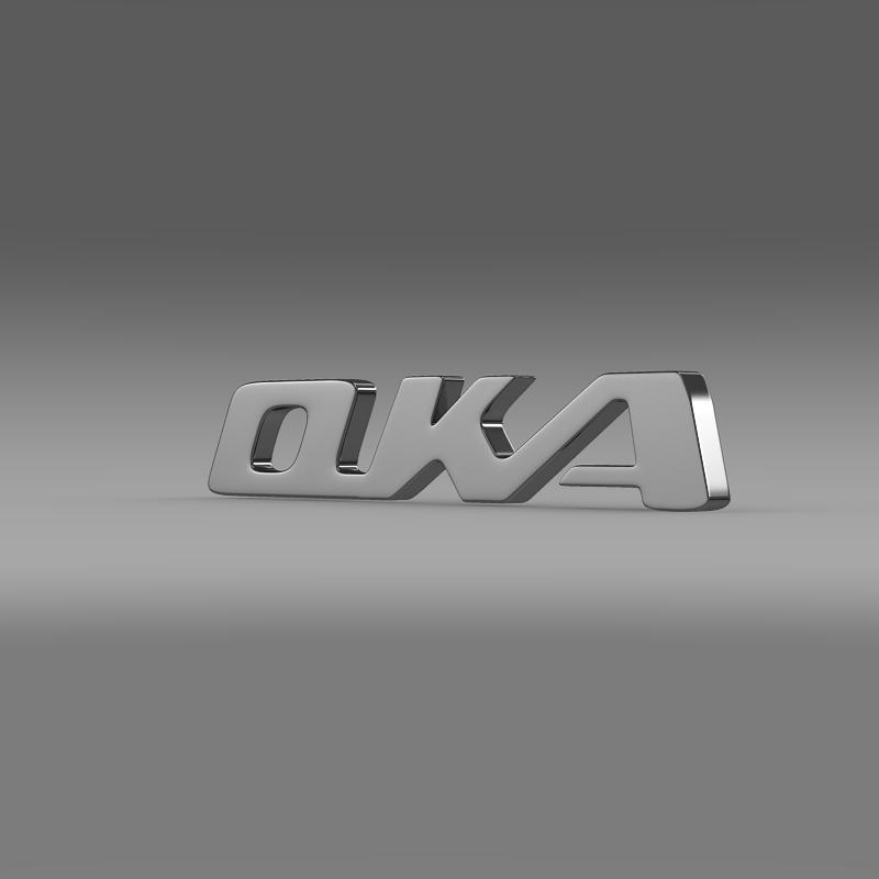 oka logo 3d model max fbx c4d lwo ma mb hrc xsi obj 151557