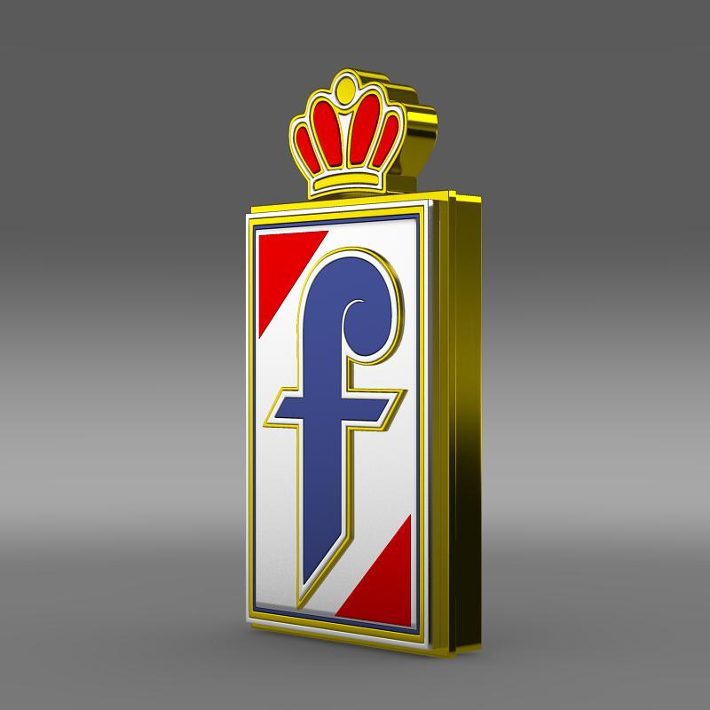 pininfarina logo 3d model 3ds max fbx c4d lwo ma mb hrc xsi obj 152485