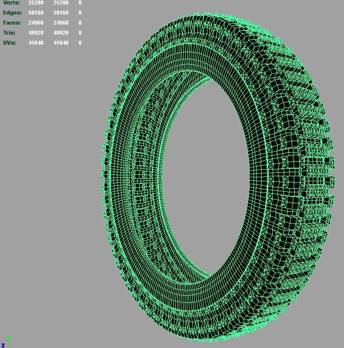 pireli lightbike tire 3d model 3ds fbx c4d lwo ma mb hrc xsi obj 128812