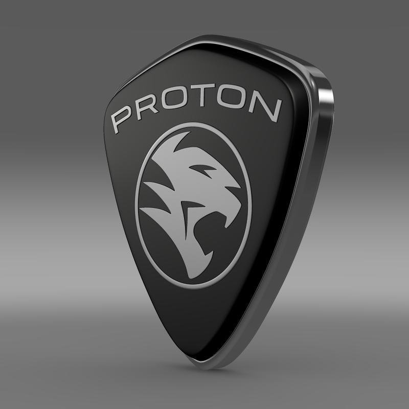 proton logo 3d model 3ds max fbx c4d lwo ma mb hrc xsi obj 152530