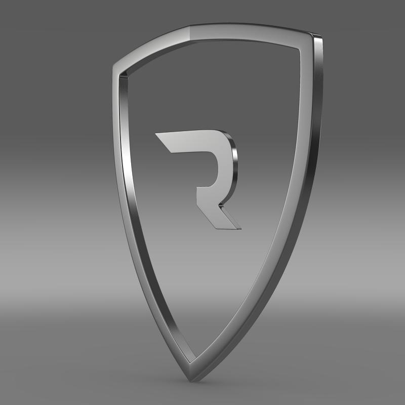 rimac logo 3d model 3ds max fbx c4d lwo ma mb hrc xsi obj 119452