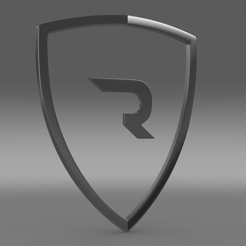 rimac logo 3d model 3ds max fbx c4d lwo ma mb hrc xsi obj 119454