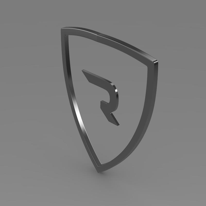 rimac logo 3d model 3ds max fbx c4d lwo ma mb hrc xsi obj 119455