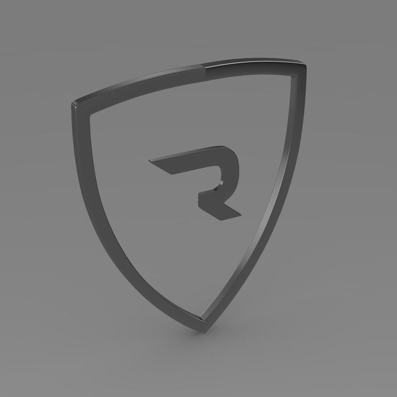 rimac logo 3d model 3ds max fbx c4d lwo ma mb hrc xsi obj 119457