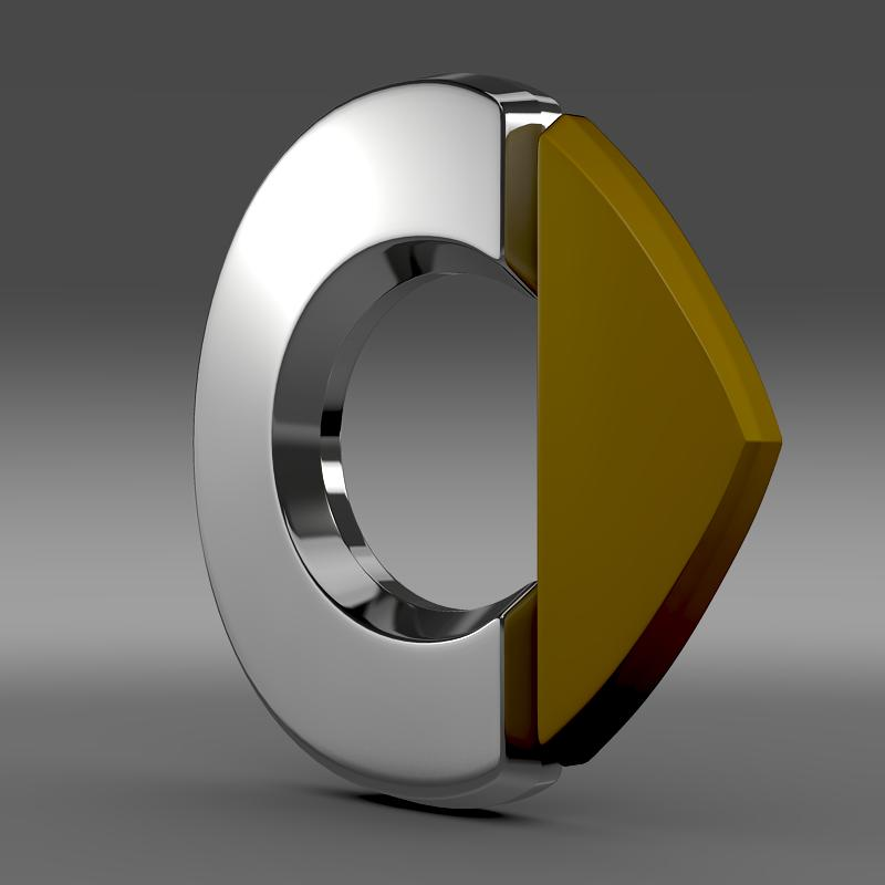 smart logo 3d model 3ds max fbx c4d lwo ma mb hrc xsi obj 117400