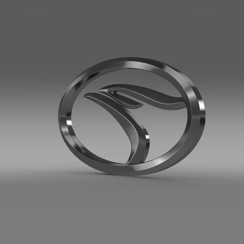 soueast logo 3d model 3ds max fbx c4d lwo ma mb hrc xsi obj 152974