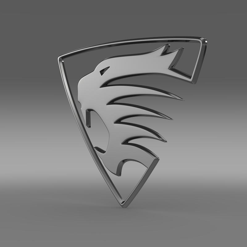spirra logo 3d model 3ds max fbx c4d lwo ma mb hrc xsi obj 152981