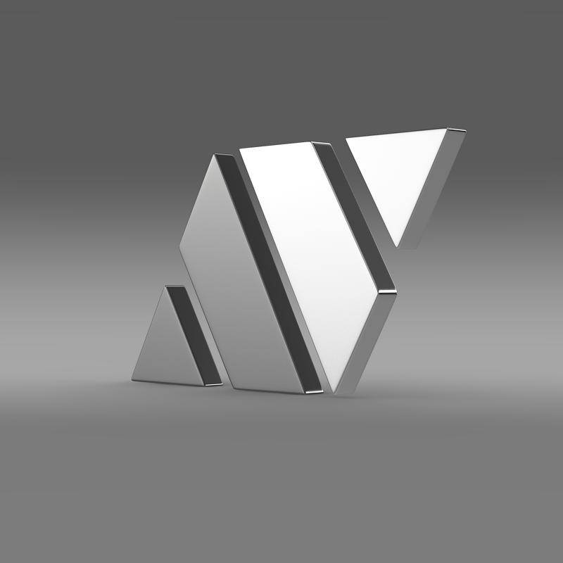 strosek logo 3d model 3ds max fbx c4d lwo ma mb hrc xsi obj 152139