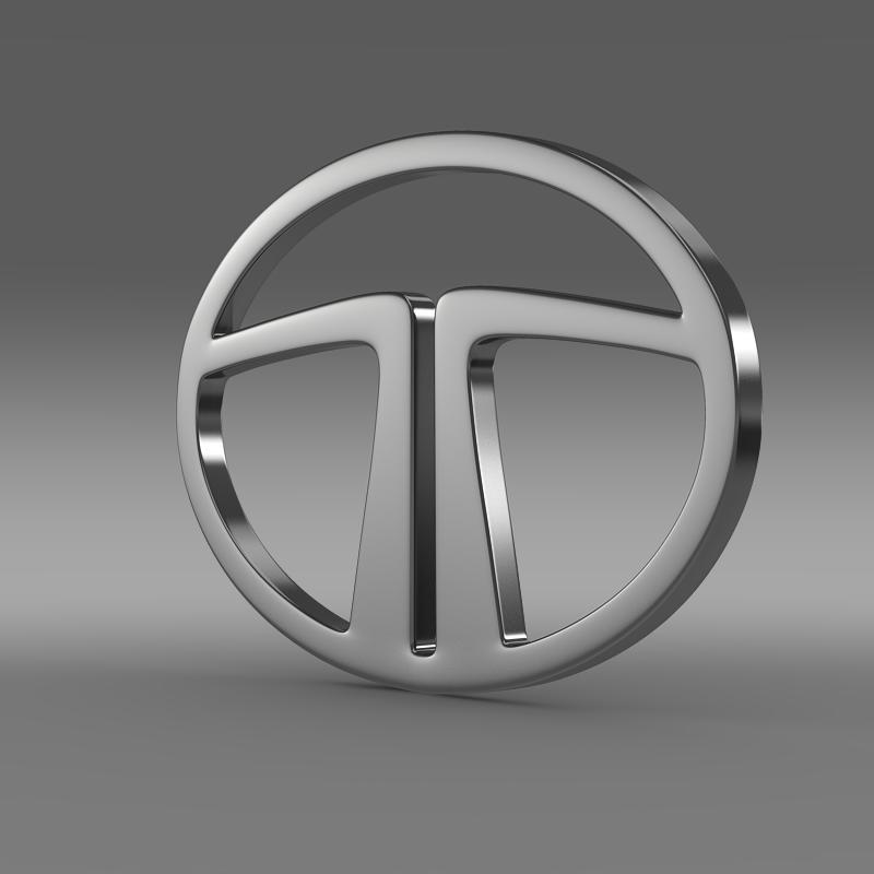 tata logo 3d model 3ds max fbx c4d lwo ma mb hrc xsi obj 117859