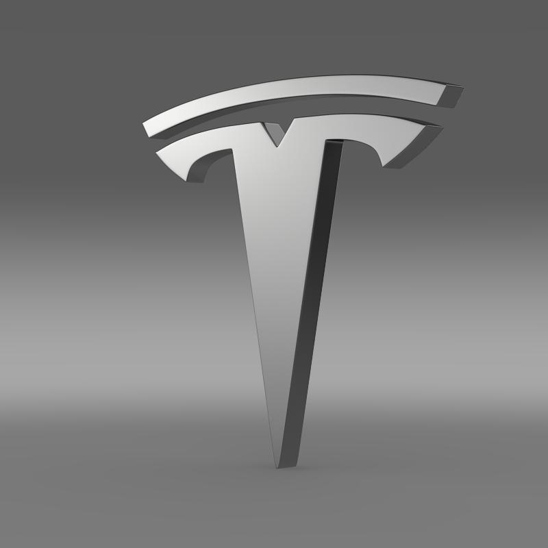 Tesla Model 3 Wallpaper Iphone: Tesla Wheel Logo 3D Model