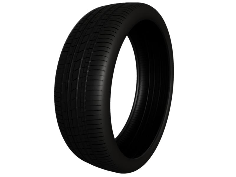 tire pirelli pzero rosso 3d model 3ds fbx c4d lwo ma mb hrc xsi obj 128825