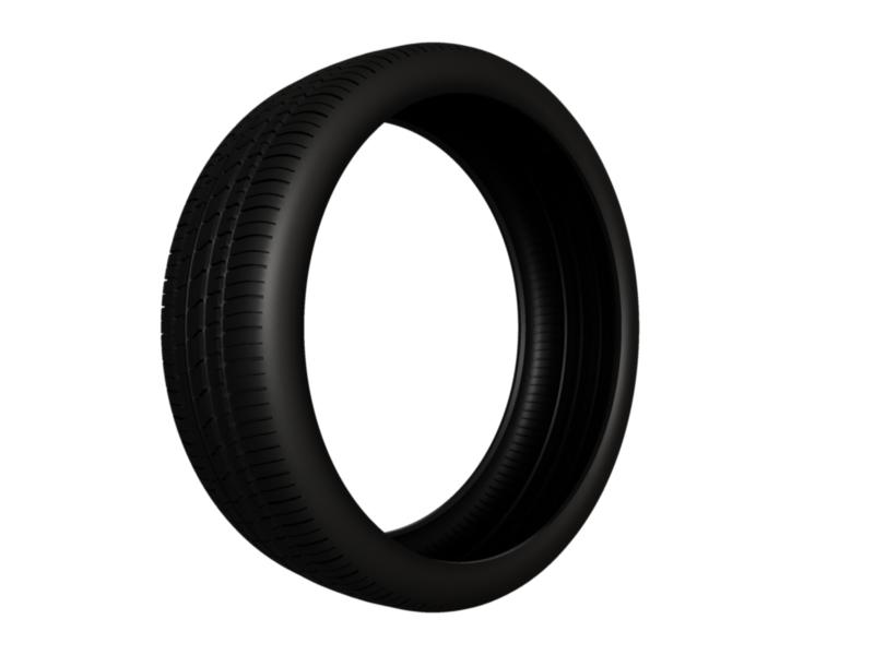tire pirelli pzero rosso 3d model 3ds fbx c4d lwo ma mb hrc xsi obj 128828